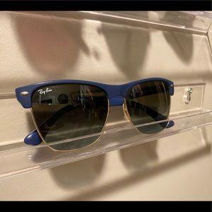 Navy Ran Ban Sunglasses